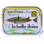 Sardines sauce pitomail, La belle-iloise, France