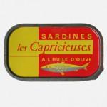 Sardines à l'huile d'olive, 1960, Les Capricieuses.