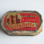 Sardines à l'huile.