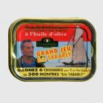 Sardines à l'huile d'olive, Grand jeu Eric Tabarly, Connétable, France.