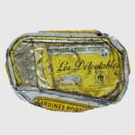 Boîte écrasée rue de Rivoli, Paris, Les délectables. Offert Par M. Guy Colman.