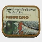 Sardines à l'huile d'olive, Ferrigno.
