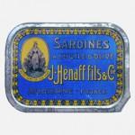 Sardines à l'huile d'olive, Hénaff, France.