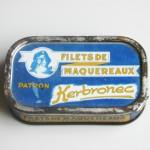 Filets de maquereaux Kerbronec, France.