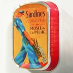Sardines à l'huile d'olive, Musee de la pêche de Concarneau.