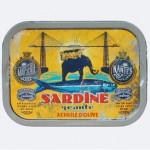 Sardine géante à l'huile d'olive pour l'exposition Stéphan Muntaner