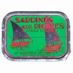 Sardines aux pickles à l'huile d'olive, Scotto Di Vettimo, France.